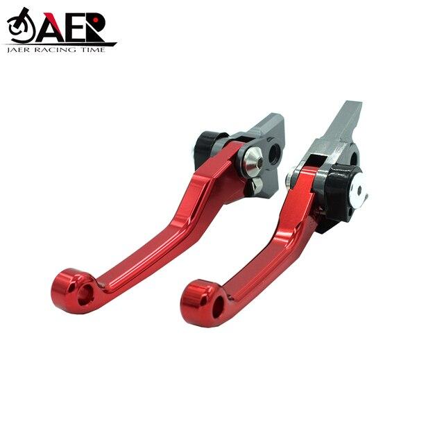 JAER CNC Foldable Pivot Clutch Brake Lever For Suzuki RMZ250 2007 2018 RMZ4502005 2018 RMZ250 2004