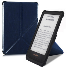 BOZHUORUI smart cover case for Pocketbook 616 627 632 e-Books,Touch Lux 4/Basic Lux 2/Touch HD 3 Folding stand PU Leather Cover цена и фото
