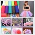 100Yard 15cm Tulle Roll Wedding Decoration Roll Fabric Spool Craft Tulle Fabric Tutu Dress DIY Organza Baby Shower Party Supplie