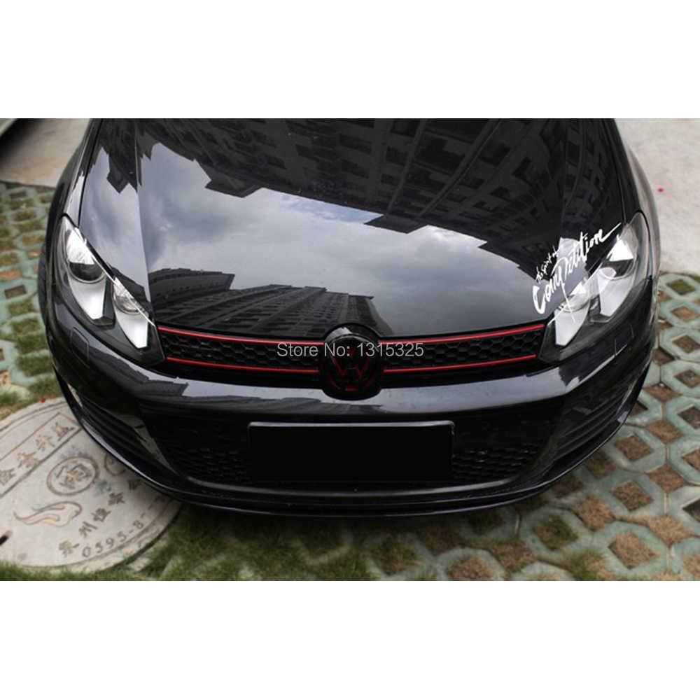 Aliauto Semangat Kompetisi Stiker Mobil Stiker Untuk Volkswagen Polo GTI Golf 4 5 6 7 Passat b5 B6 b8 Jetta tpuranTiguan