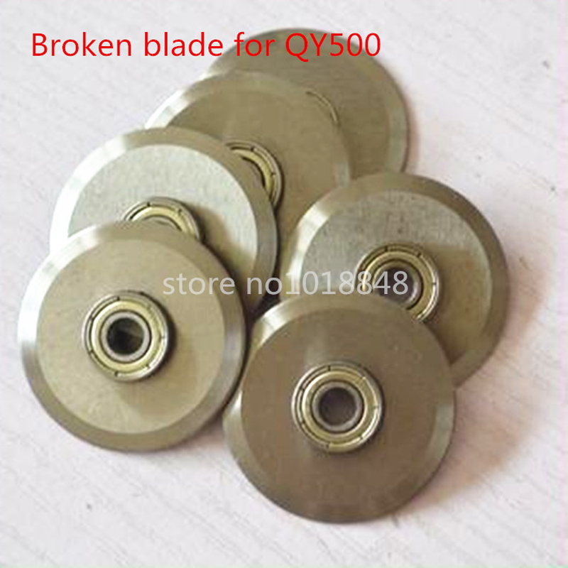 Broken bladefor QY500 Electric paper creasing machine book cover creasing cutting and creasing machine цены