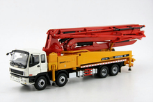 Special Original 1:38 Isuzu SANY Concrete Pump truck alloy metal model car toy collection