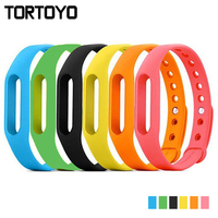 Colorful Band Strap Smart Wristband Replacement Bands for xiaomi mi band 1 miband 1 Silicone Watchband Strap Bracelet 6 Colors