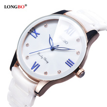 LONGBO Luxury Fashion Women Watch Quartz Ceramic Watches Lady Relojes Mujer Women Wristwatch Girl Dress Female Ladies Clock hot selling watch women senda brand luxury fashion casual quartz ceramic watch lady relojes mujer women wristwatches girl dress