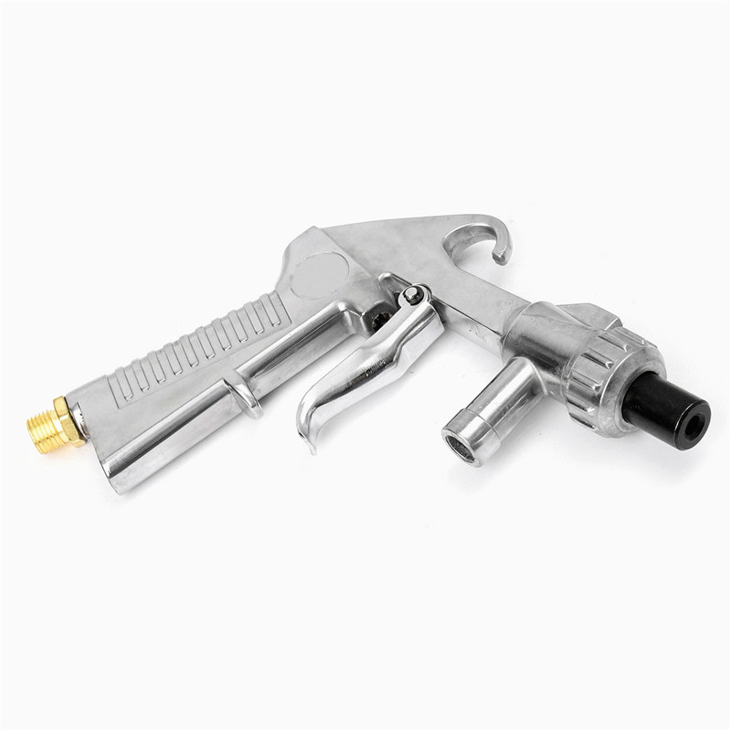7Pcs/Set Abrasive Air Sand Blasting Gun Kit 1 Ceramic Nozzle 1 Steel Nozzle  1 Sand Suction Pipe Industrial Sandblaster Gun