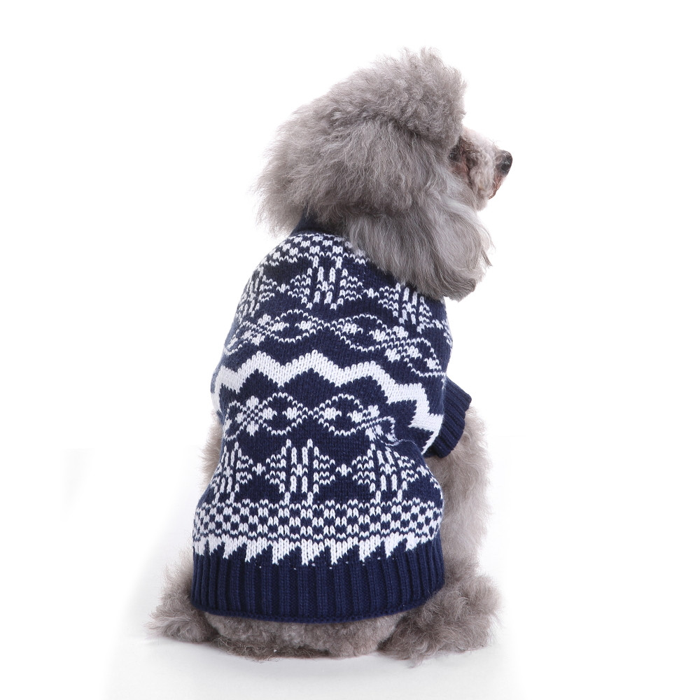 Small Dogs Costume Clothes For Little Dogs Overalls Christmas Fashion Comfortable Pet Clothes Festival Dress Sweater Knitwear
