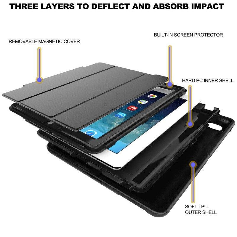 Za iPad Mini 1/2/3 Retina Kids Siguran oklop otporan na udarce - Dodaci za tablet - Foto 3