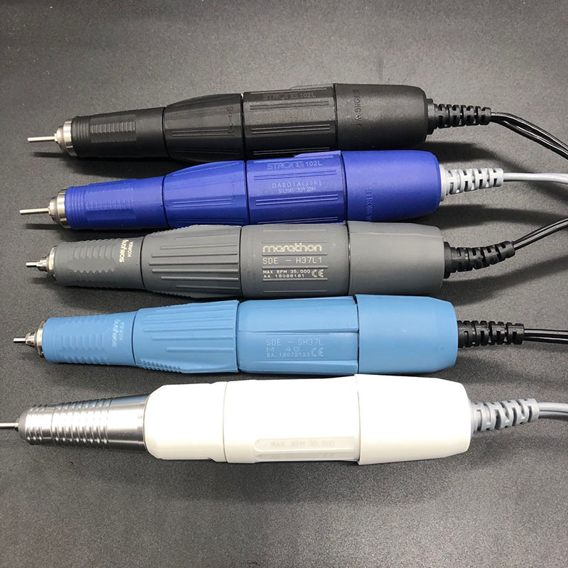 Saeyang STRONG 210 SH37LN H37L1 102L Handle 35K & 40K & 45K RPM Dental Marathon Micromotor Polishing Handpiece