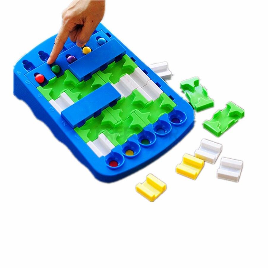 IQ Puzzle pour enfants connexion puzzle pensée logique jeu de société 48 défi avec Solution jouets Jouet Enfant Intelligent