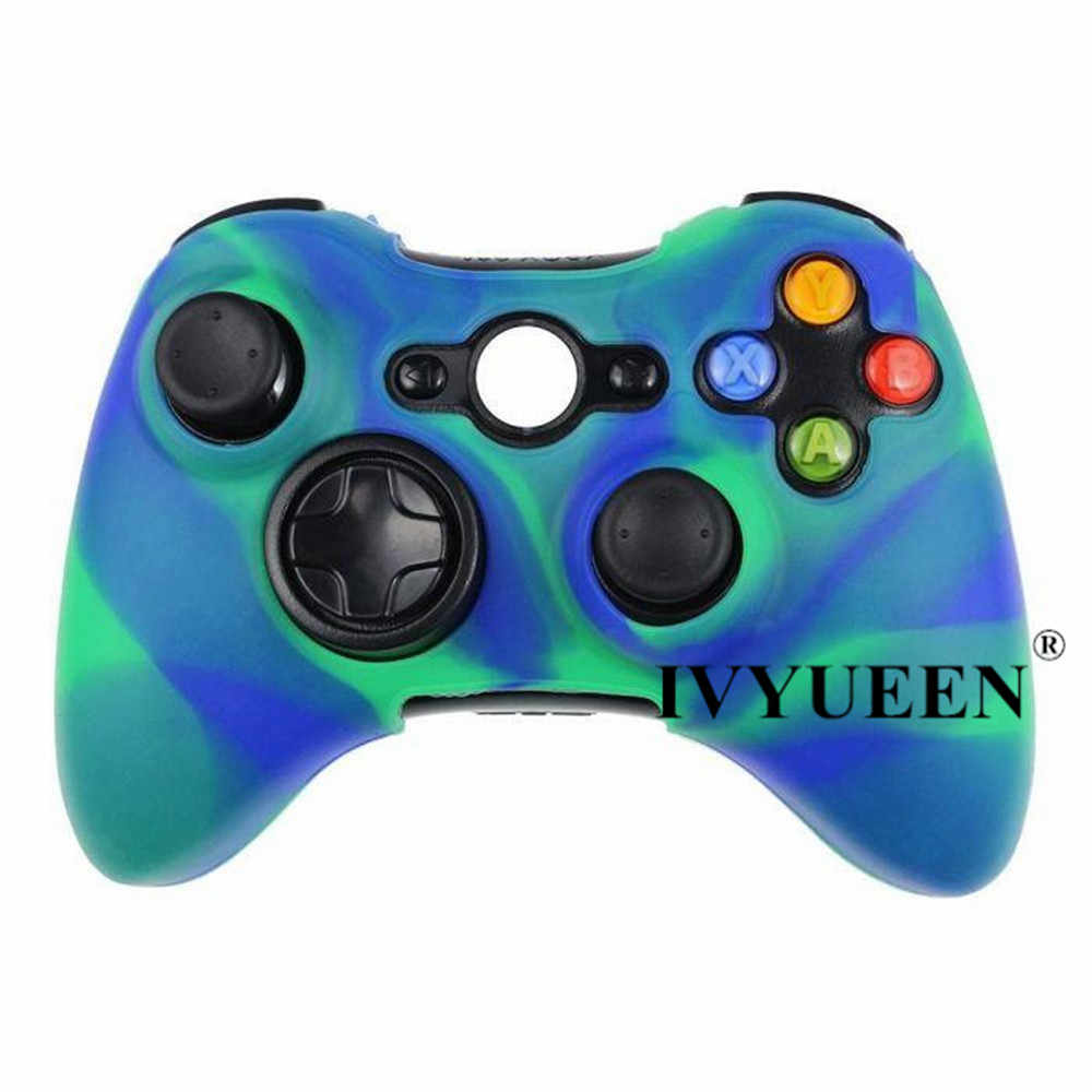 small resolution of  ivyueen 18 colors soft silicone protective skin case for microsoft xbox 360 wired wireless controller