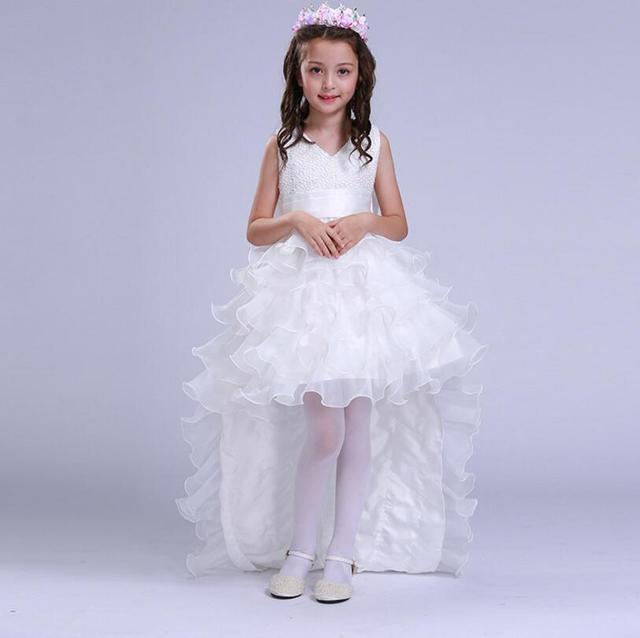 2017 t princesse de mariage demoiselle d 39 honneur fille for Fleurs fille robes mariage