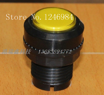 [SA]Video game consoles accessories small round button yellow button mainframe computer switch button--20pcs/lot