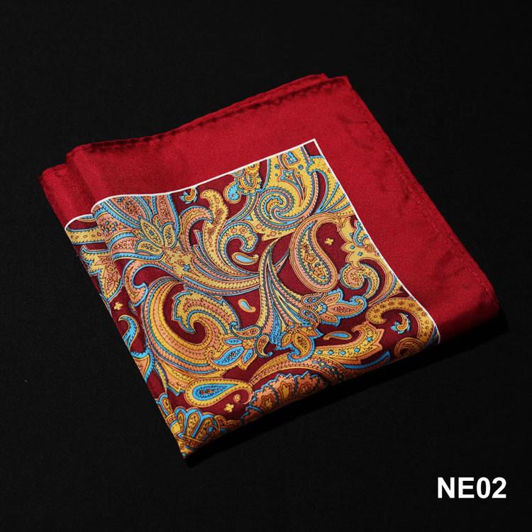 NE02 HN06R Red Yellow Paisley