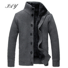Winter Wool Liner Men Cardigan Classic Thicken Male Sweater winter hombre overcate fashion men outerwear solid men sweater