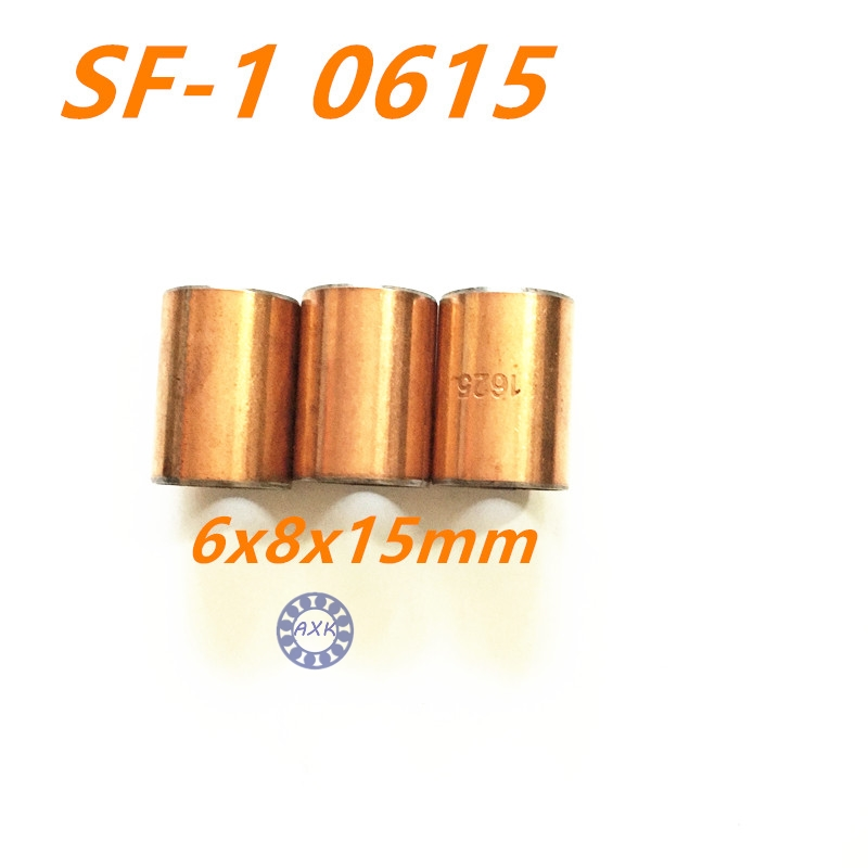 Free shipping High Quality 20Pcs SF1 SF-1 0615 6*8*15 20pcs 0615 Self Lubricating Composite Bearing Bushing Sleeve 6x8x15mm ланита обои ланита 1 0615