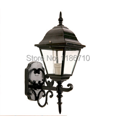Factory direct sales of outdoor European rural exterior wall lamp waterproof outdoor wall light  waterproof columbia