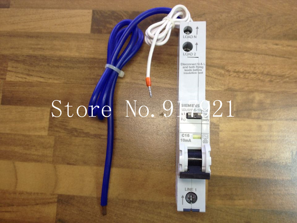 [ZOB] original original 5SU9106-1KK16 leakage protector compact leakage protection switch 10MA 1P16A --2PCS/LOT etx003700 sensor used in good condition