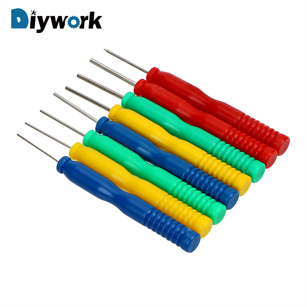 DIYWORK 8pcs/set Hollow Needles Desoldering Tool Electronic Components Stainless Steel Kit