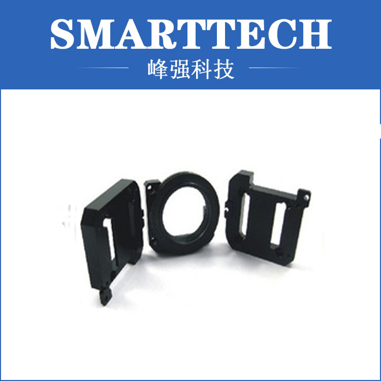 3 cavity black ABS plastic bag accessory moulding makers in China high tech electric shell plastic moulded makers in china