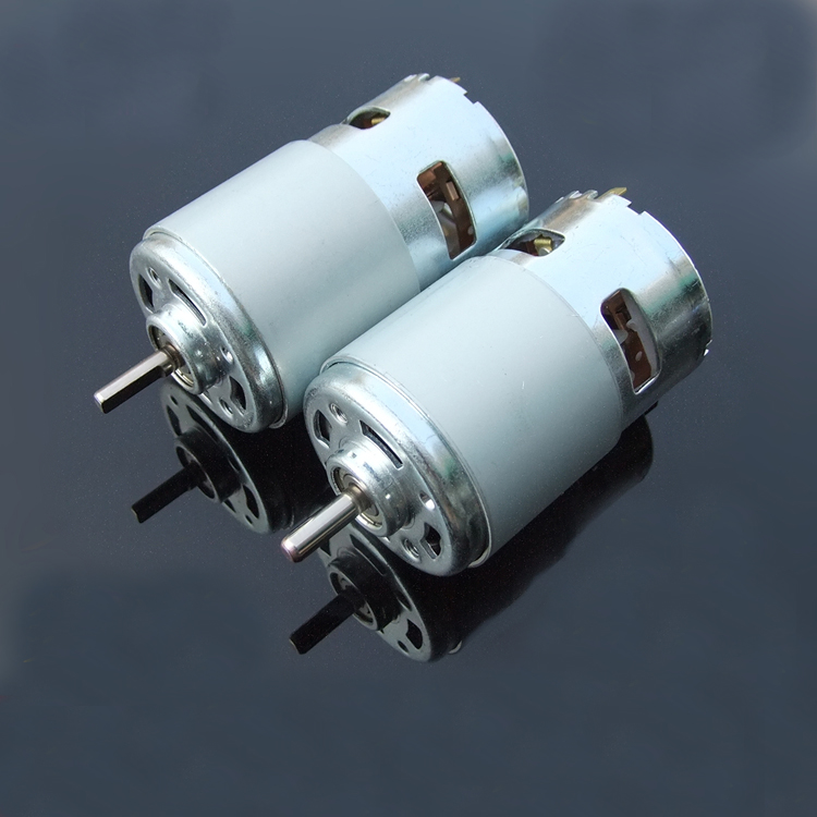 1pc Round/D-type Shaft 795 Large Power DC Motor Double Balls Bearing 12-24V Large Torque Motors High Speed 775 Motors Upgrade high power 12v 24v dc motor 775 large torque ball bearing tools low noise