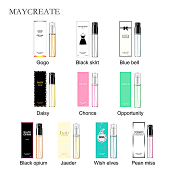 MayCreate 3ml Body Antiperspirant Women Atomizer Perfumed Bottle Glass Fashion Lady Female Parfume Long Lasting Flower Fragrance 1