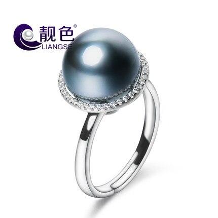Woman's Fresh water pearl retro ring