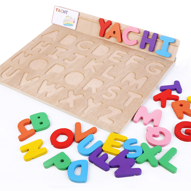 1 Set Educational 3D Wooden Jigsaw Puzzles Toys Kids Funny Games For Children Early Learning