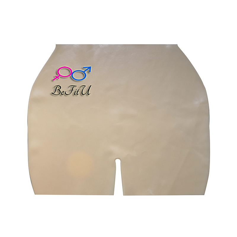 Latex Shorts Fetish Nice Boxers  100% Natural  Sexy Women Small Size Version W8669