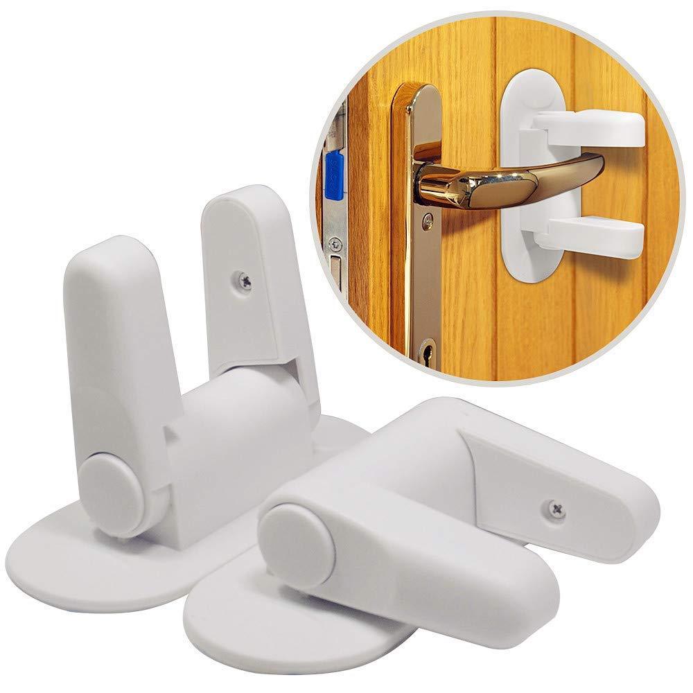 Child Safety Catch Child Proof Cupboard Door Drawer Lock Latch Screws