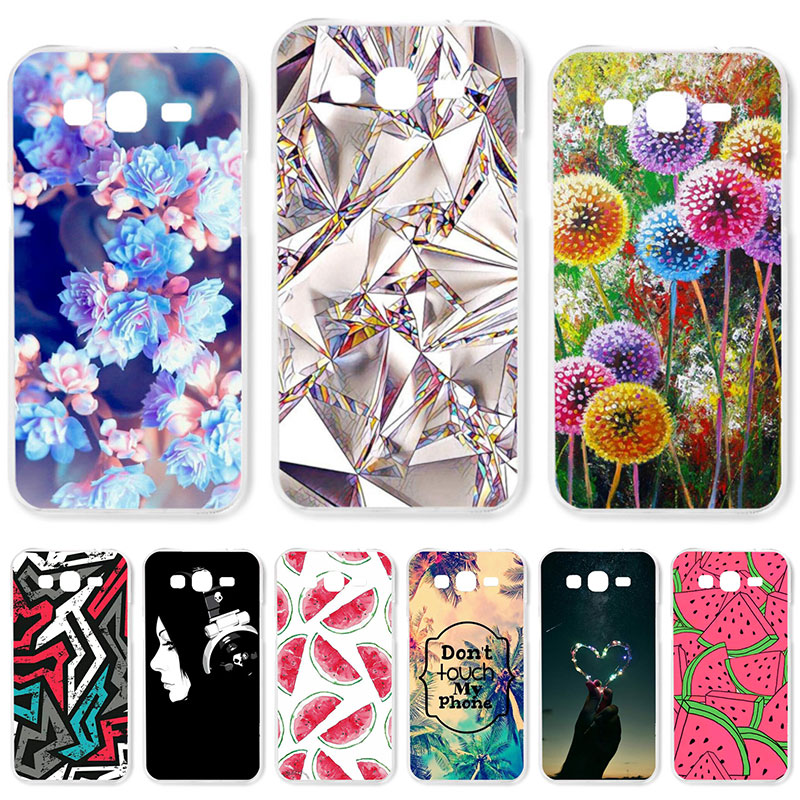 TAOYUNXI Soft TPU Case For Samsung Galaxy Grand 2 Cases For Samsung Grand2 G7102 G7105 G7106 G7108 G7109 G7100 DIY Painted Cover image