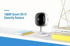 Image 2 - SANNCE cámara IP de ojo de pez 1080P, 3 piezas, inalámbrica, Wifi, minicámara de seguridad para el hogar, 2MP HD de visión nocturna, IR, corte, Wi Fi, Monitor para bebés