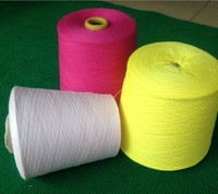 100 Cotton Yarn For Knitting Or Clothes Thread 32s 2 Full Colour Combed Yarns Eco Friendly