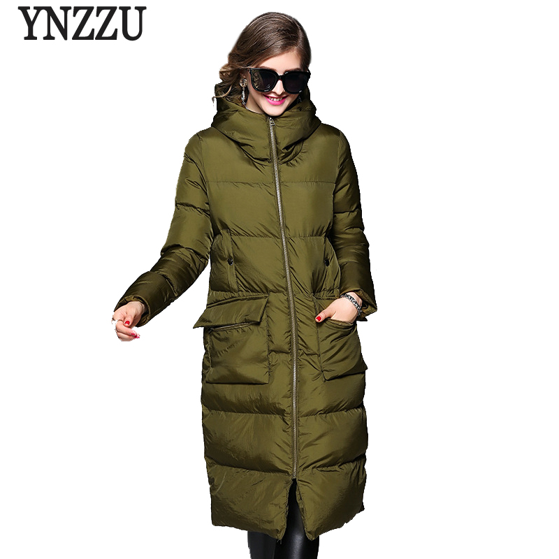 2017 New Winter Jacket Women Casual Loose Long Sleeve Down Parkas Pockets Hooded Warm Cotton Coats Windproof Overcoat AO367 2017 new winter jacket women casual loose long sleeve down parkas pockets hooded warm cotton coats windproof overcoat ao367