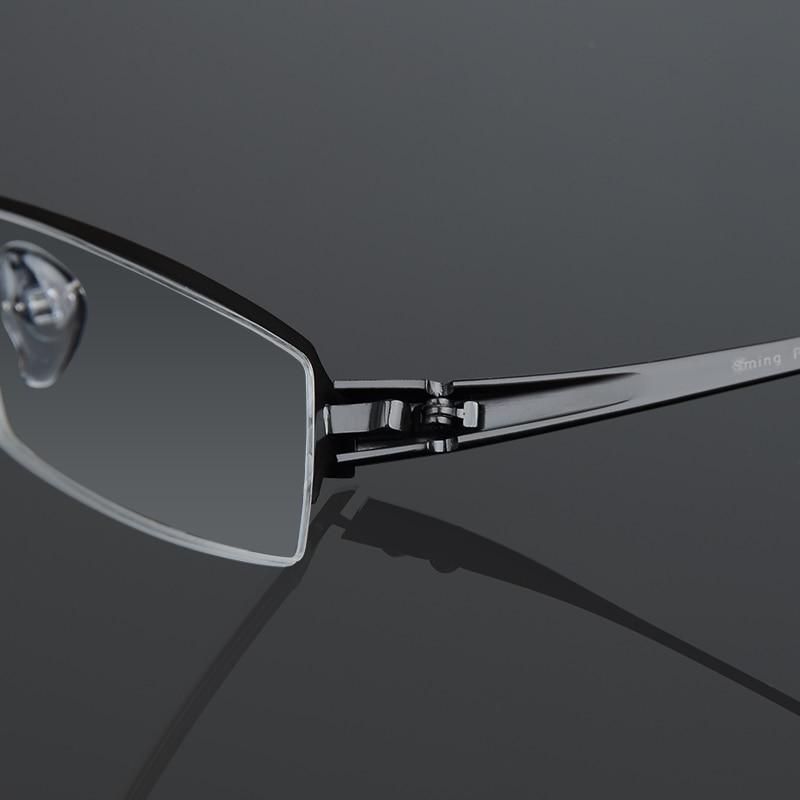 Xinze Titanium Semi Brillen Brille Heißer Presbyopie randlose Männer Mode Spektakel Rahmen Halb Business Myopie rHarp4wqZn