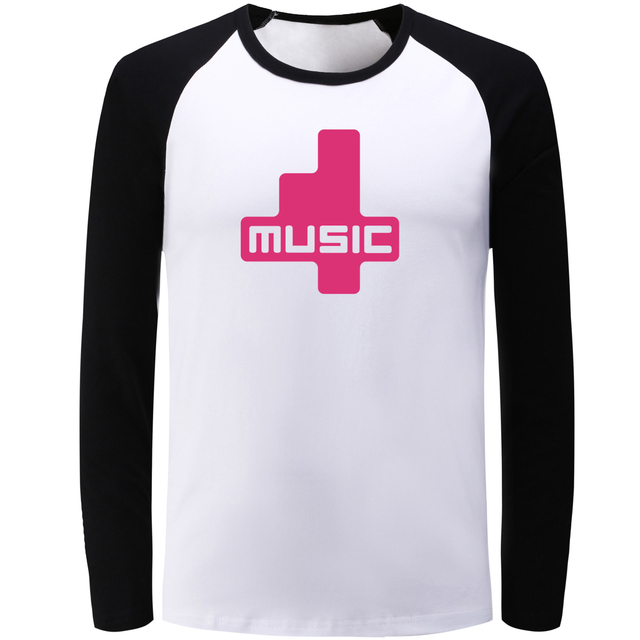 Love Quotes Clothing Entrancing Music Symbol Patchwork Long Sleeve T Shirt Men Women Girl Boy I