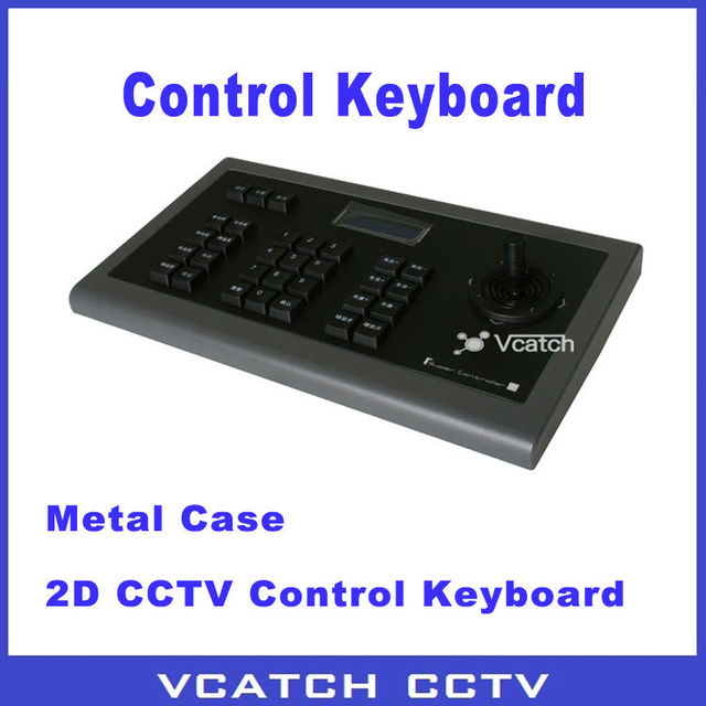 Vcatch 2D Rocker Security System Control Keyboard RS485 PTZ CCTV Controller