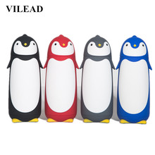 ФОТО sweet gift cup children water bottle penguin stainless steel thermos cup daily cup personality free shipping
