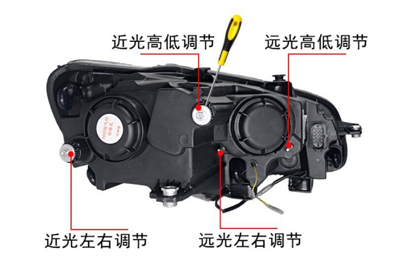 Image 5 - 2pcs car styling for B7 Passat headlight,2012 2013 2014 205,bumper lamp for Passat fog light,car accessories,Passat b7,magotanpassat fog lightfog lightpassat headlights -