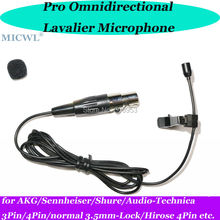 купить Pro mini Wireless Lavalier Clip Lapel OmniDirectivity Microphone for Sennheiser AKG Shure Audio-Technica etc. дешево