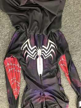 毒 Symbiote クモグウェンステイシー 3D 印刷スパンデックスハロウィン女性のための衣装/子供 Custom Made