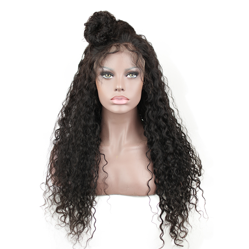 13x6 Curly Lace Front Wig Human Hair Black Women 150 Density Deep Part Brazilian Wigs Lace Front Baby Hair Pre Plucked Eseewigs