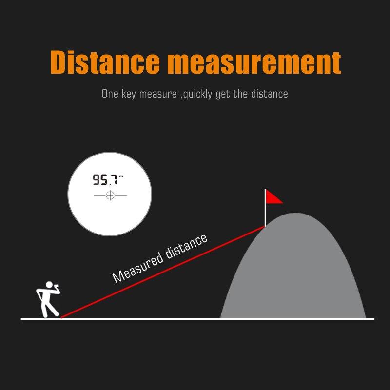 Mileseey PF210 PF3S PF04 Golf Laser Rangefinder Telescope Laser Rangefinder 600m Laser Distance Meter 6X Monocular Golf hunting