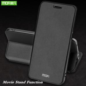 Image 5 - MOFi מקרה עבור Huawei נובה 3 ספר מקרה עבור נובה 3 Flip כיסוי עור מפוצל Coque עבור Huawei Nova3 יוקרה עמיד הלם עסקים פגז