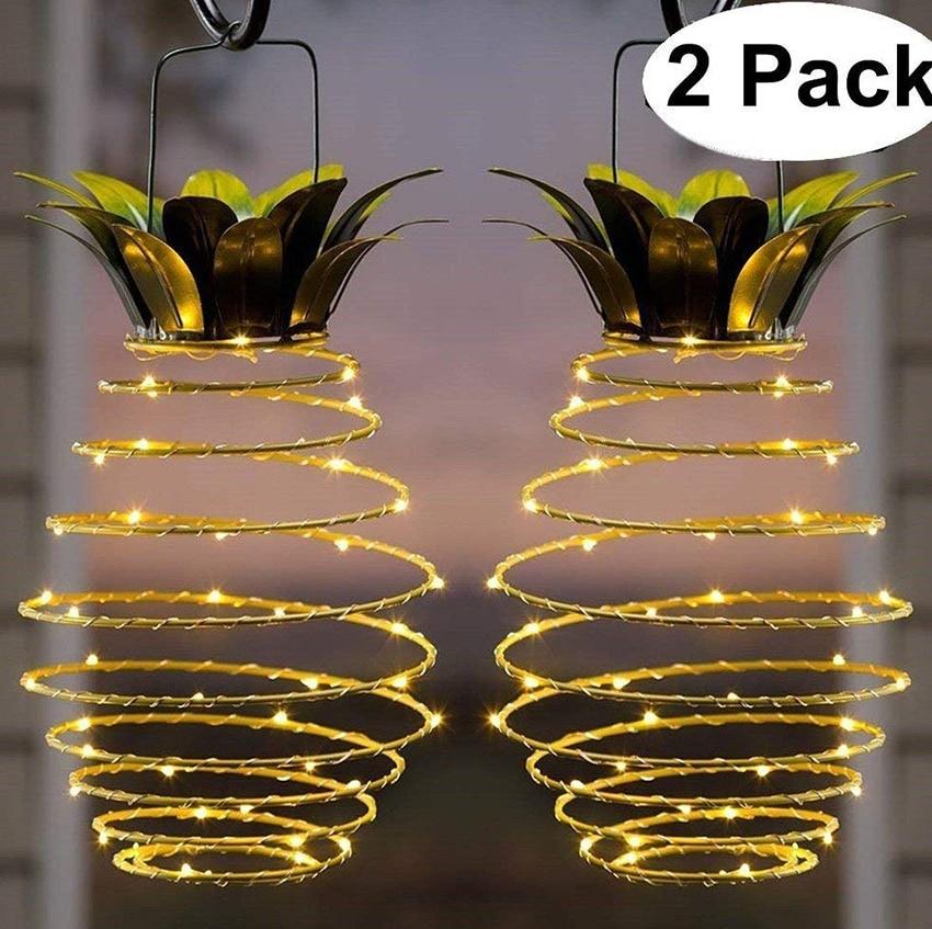 Aliexpress Com Buy Solar Garden Lights Pineapple Outdoor