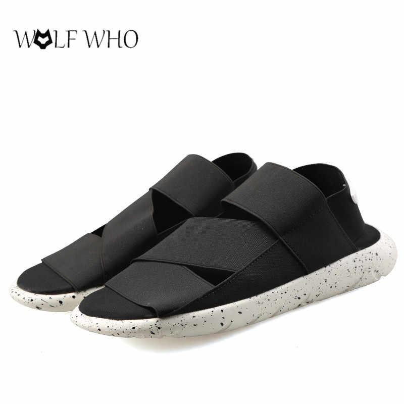 Мужская обувь; Y3; сандалии; KAOHE; домашние мужские шлепанцы; летние мужские сандалии с открытым носком; Мужская обувь наивысшего качества; chaussure homme