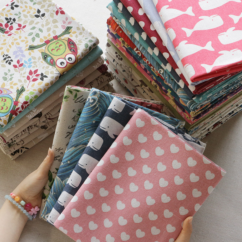 Cheap Price Grid Patchwork Diy Sewing Fabric 100x145cm Striped Sofa Cover Table Cloth Sewing Plaid Fabric For Doll Patchwork Clothes Sewing Arts,crafts & Sewing