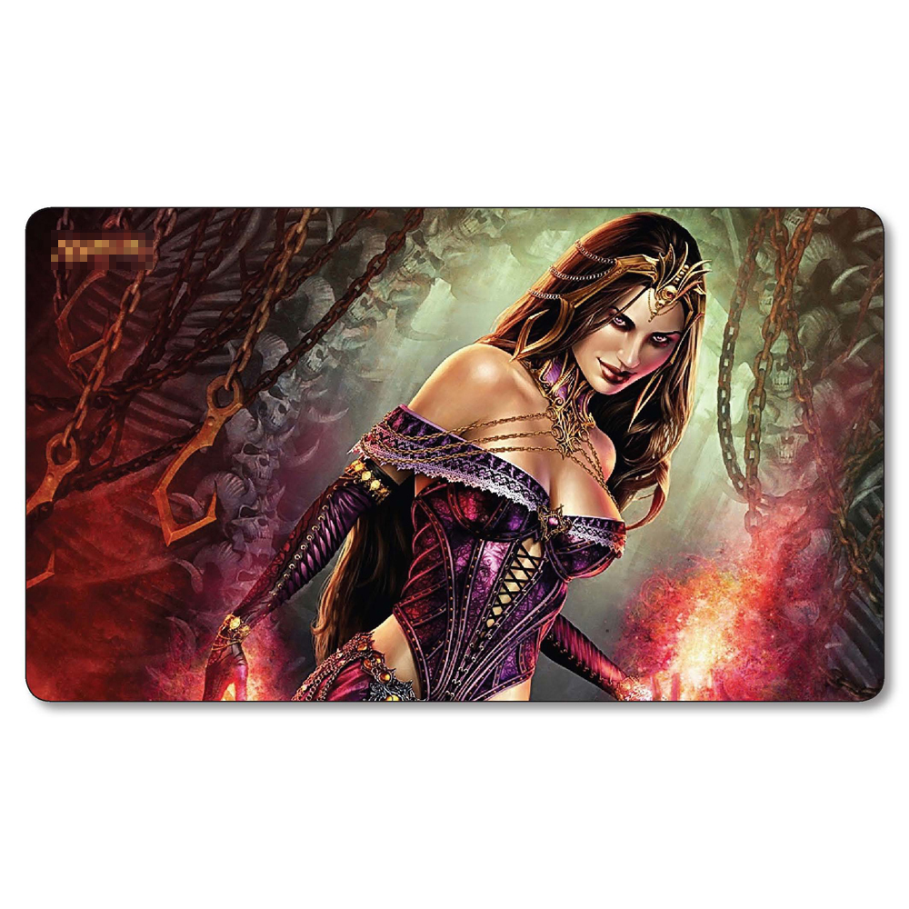 2mm Thick Table Pad Mgt Board Games Playmat Liliana Of The Veil