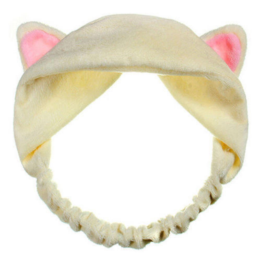 Hair Care & Styling 1pc Fashion Cute Lady Girl Elastic Grail Cat Ears Hair Braiders For Washing Face Headdress Women Hair Accessories Party