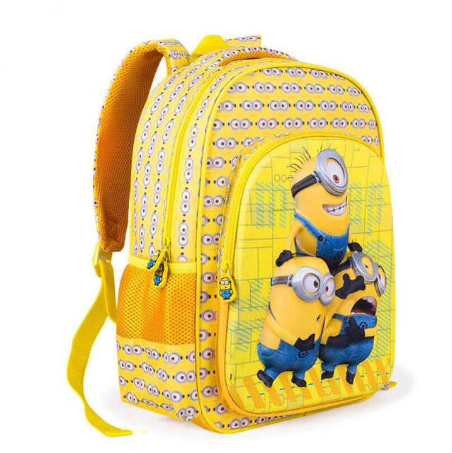 High Quality Despicable Me Minions Backpack
