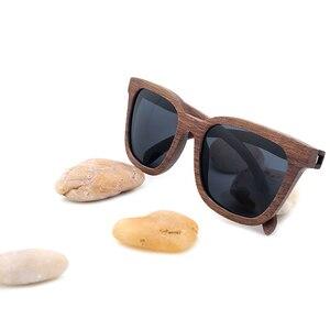 Image 2 - BOBO KUŞ Vintage Güneş Gözlüğü Erkekler ahşap güneş gözlükleri Polarize Retro Bayanlar Gözlük UV400 Ahşap Hediye Kutusu V AG010